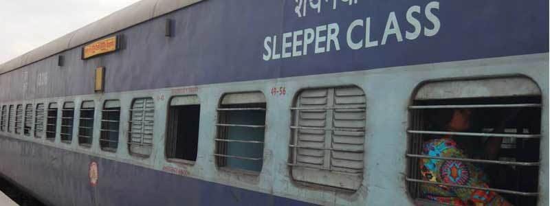 Voyage Inde : Train Inde Sleeper Class