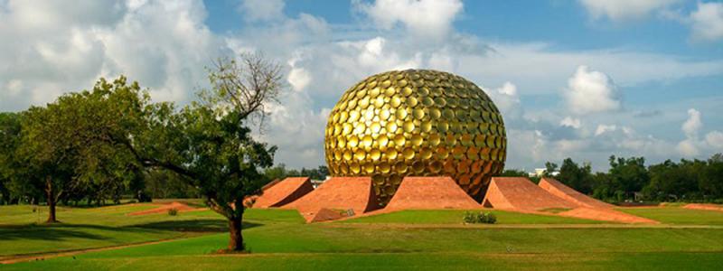 South India : Auroville Tamil Nadu