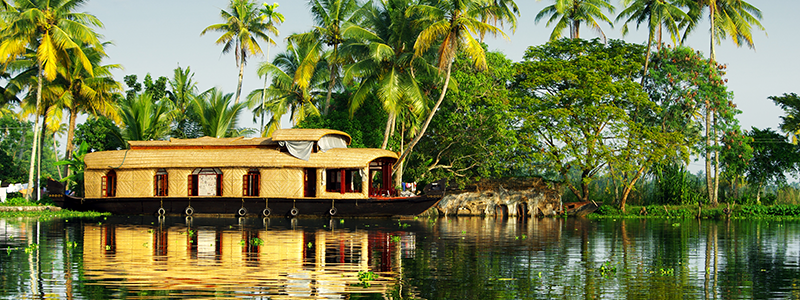 South India : Backwaters Kerala