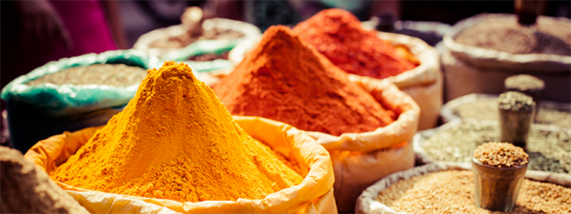 Indian Cuisine : Spices