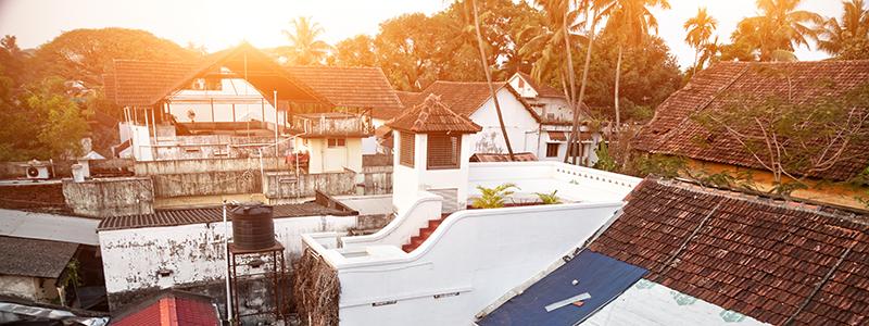 South India : Kochi City in Kerala