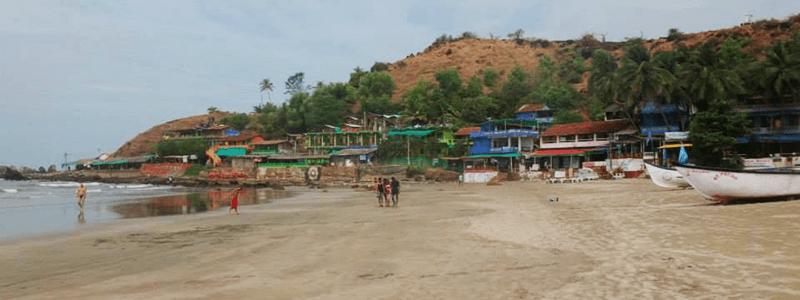 South India : Arambol Beach Goa