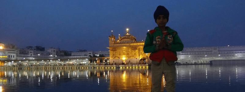 North India : Golden Temple Amritsar