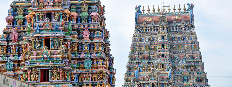 South India : Madurai Temple