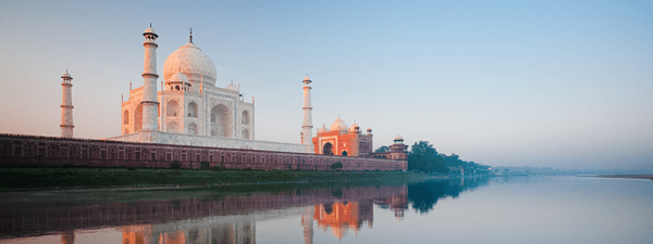 North India : Taj Mahal Agra Rajasthan