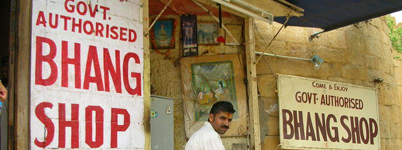 Voyage Inde Nord : Bang Lassi Shop Jaisalmer